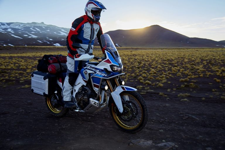 Africa Twin Adventure Sports_Stand