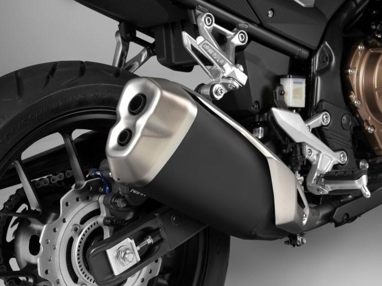 Honda CB500F_Exhaust